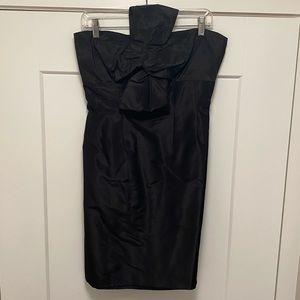 Jcrew  Bow Front Strapless Dress